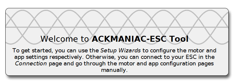 How to: Ackmaniac ESC Tool